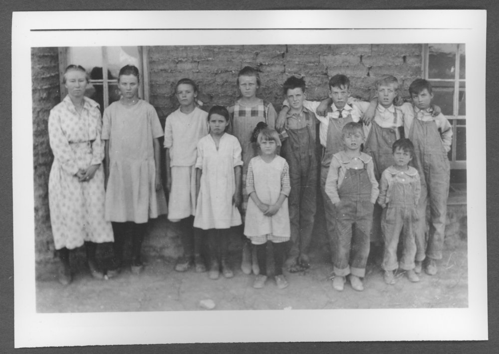Scenes of Sherman County, Kansas - Fairview School, District #57, 1921