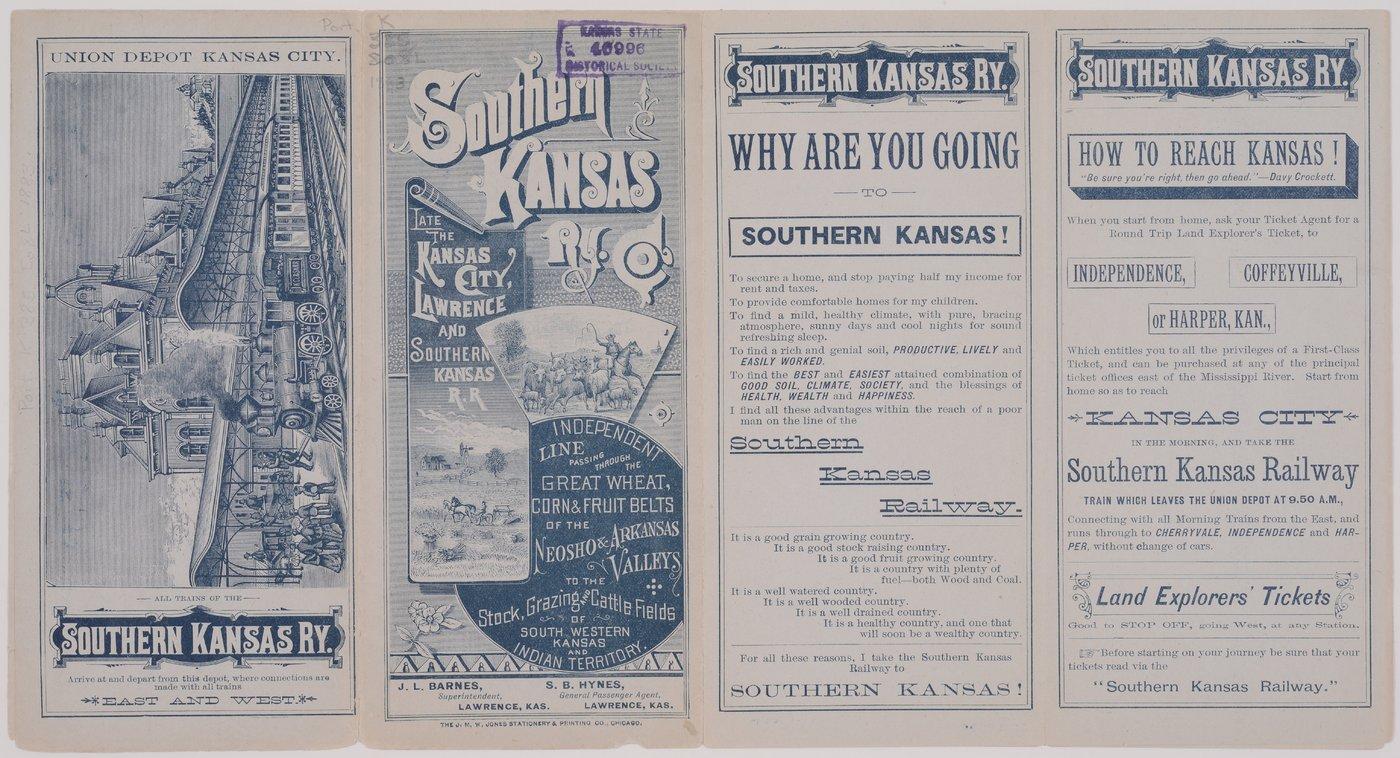 Southern Kansas Railway Company - Kansas Memory - Kansas