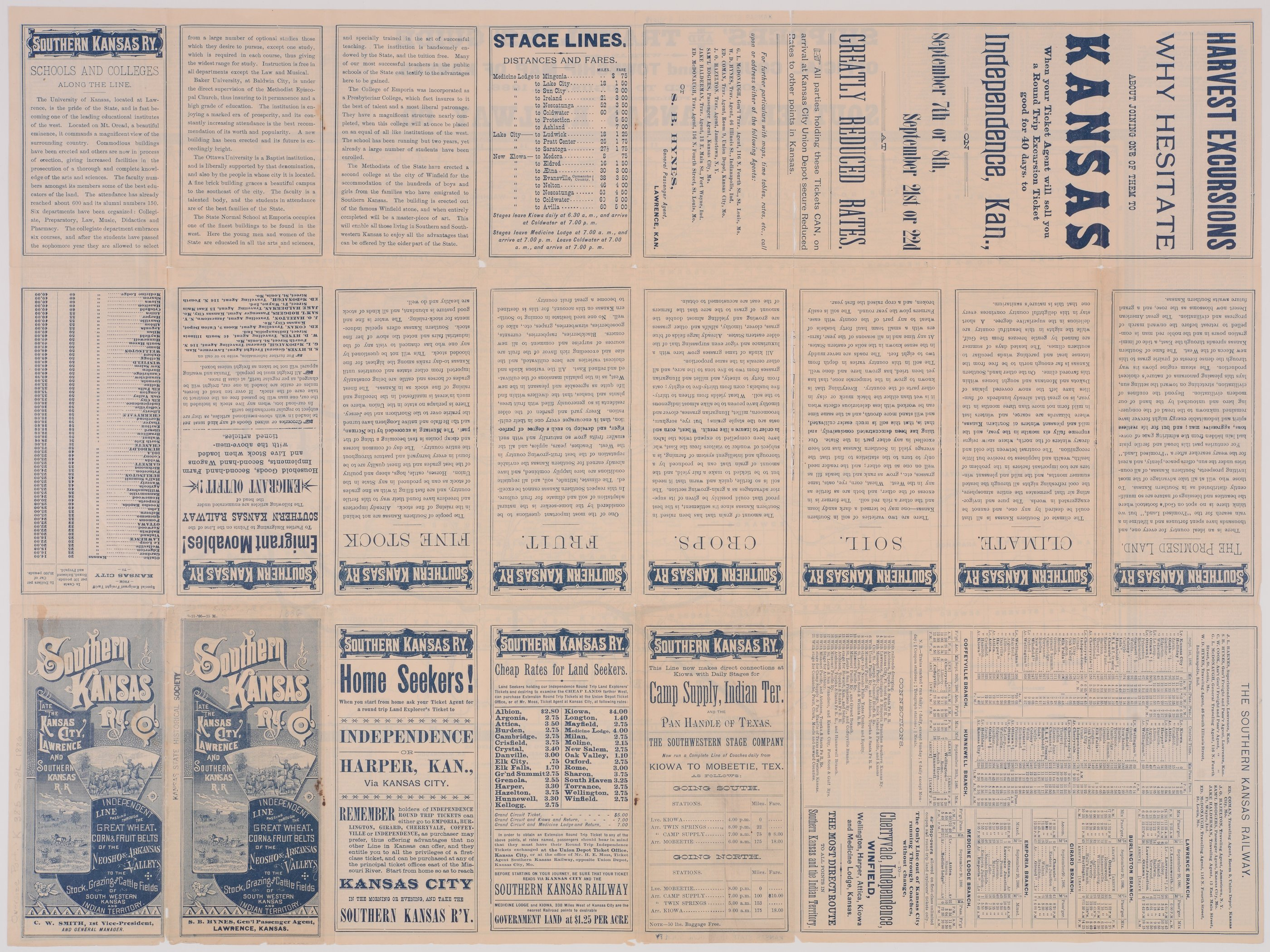 Southern Kansas Railway Company - 1