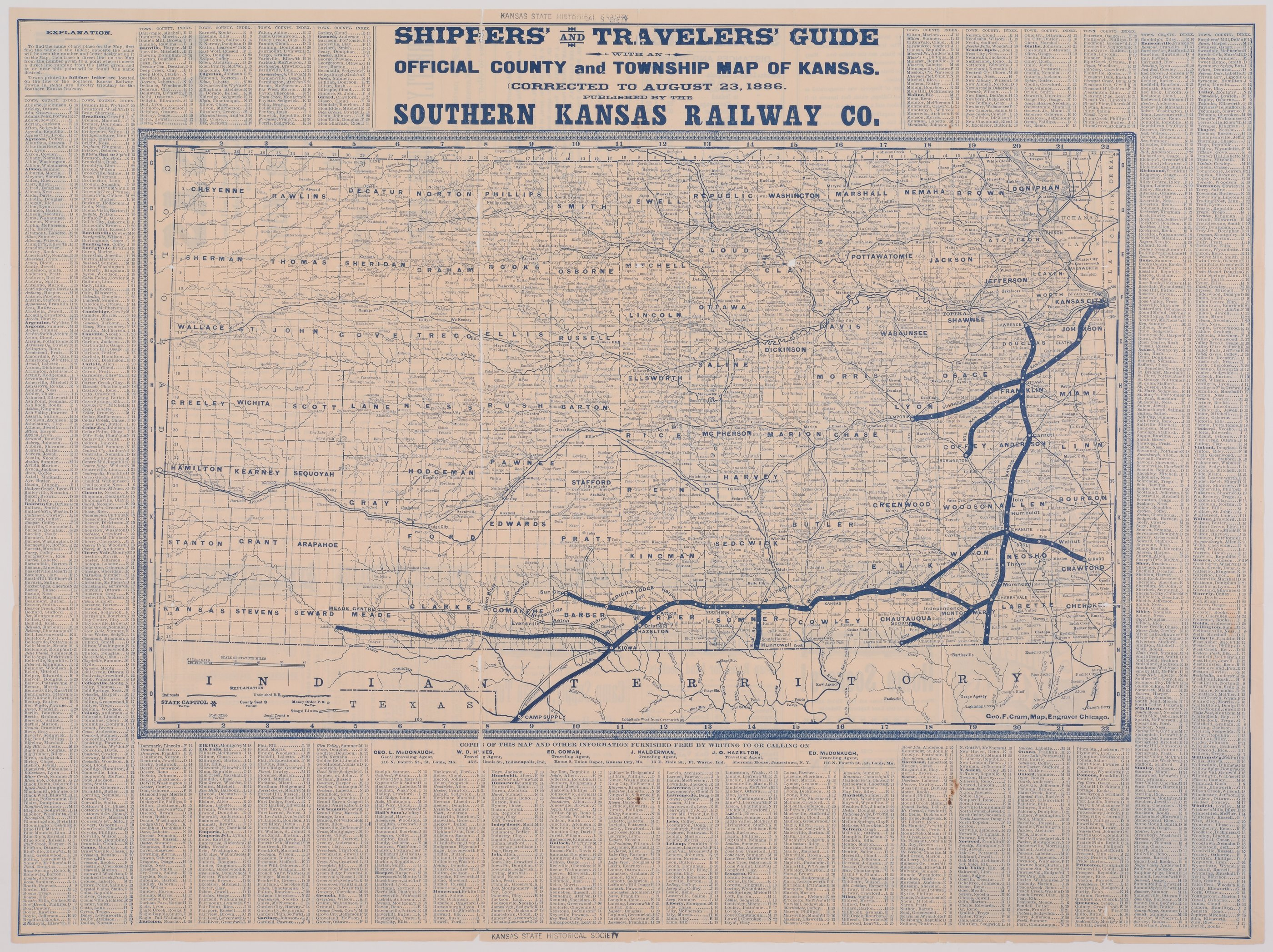 Southern Kansas Railway Company - 2