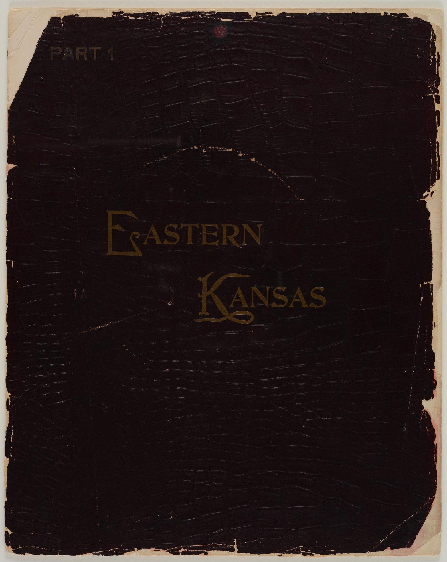 Art Work on Eastern Kansas - Front cover