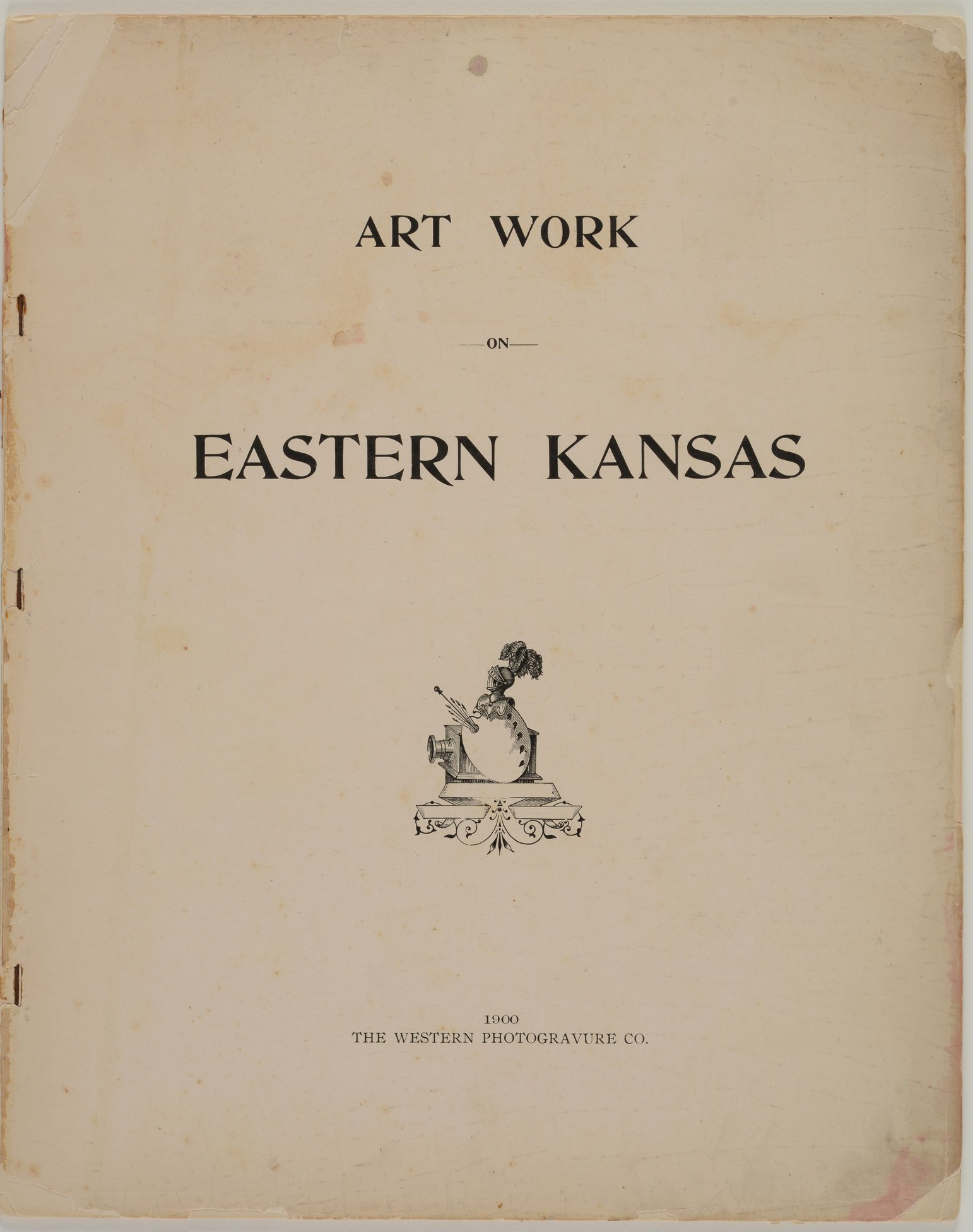 Art Work on Eastern Kansas - Title page