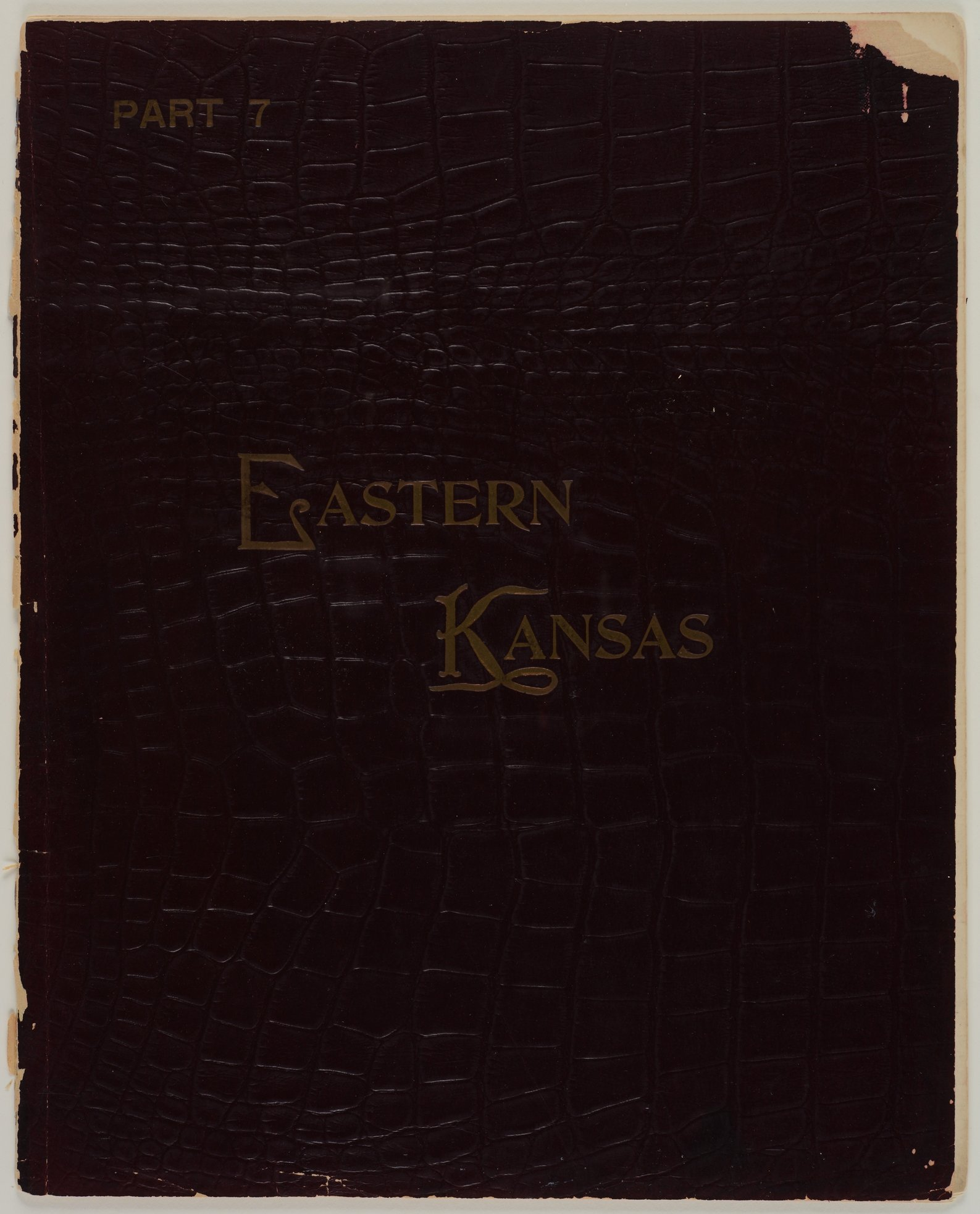 Art Work on Eastern Kansas - Front cover