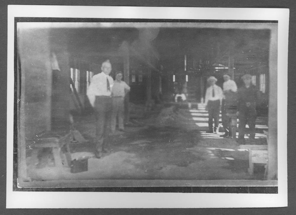 Scenes of Sherman County, Kansas - Inside the Rowe blacksmith shop.
