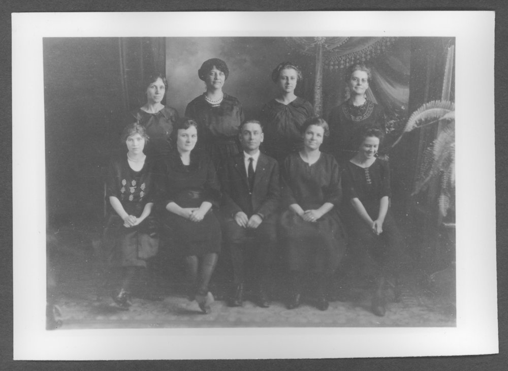 Scenes of Sherman County, Kansas - Logan school students, District #3