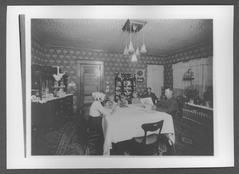 Scenes of Sherman County, Kansas - G.L. Calvert house, 322 East 10th, Goodland, Kansas.