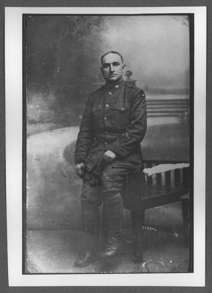 Scenes of Sherman County, Kansas - Eustis Allen Douglass, born on 9/15/1886, the first baby born in Eustis, Kansas.