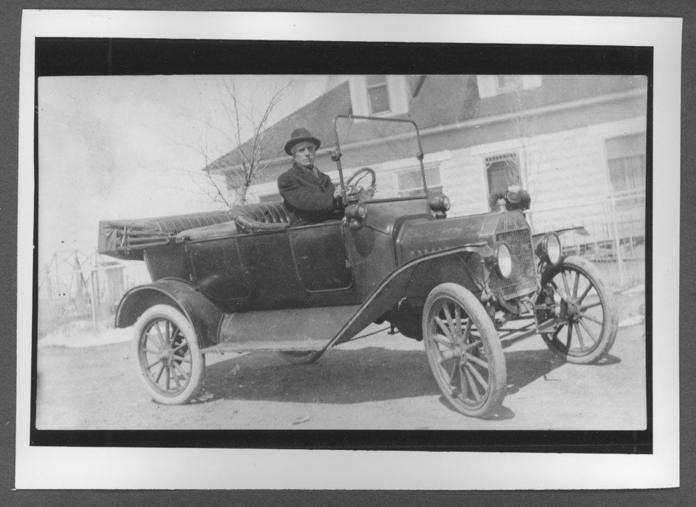 Scenes of Sherman County, Kansas - Reverend Fletcher, traveling preacher.