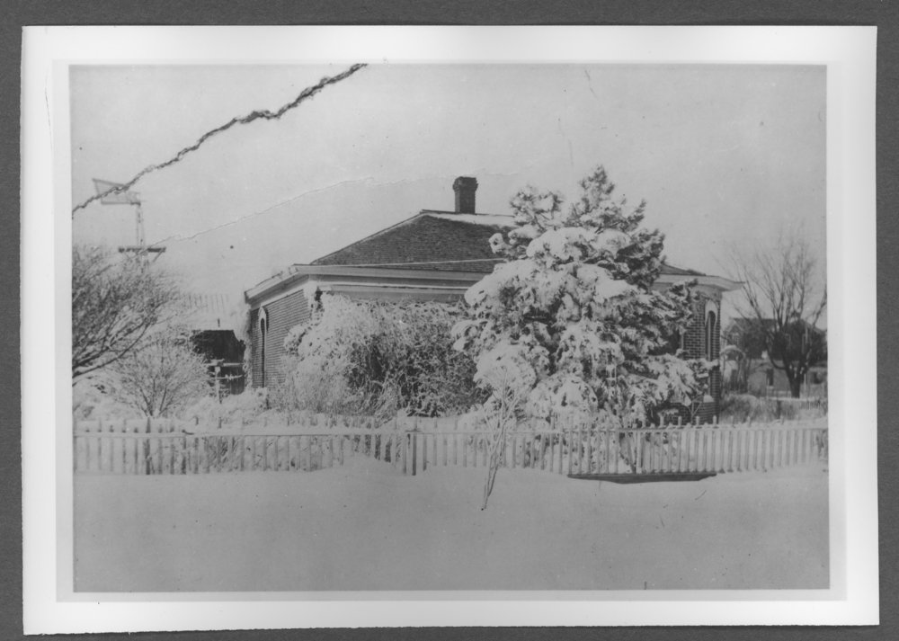 Scenes of Sherman County, Kansas - Heston home at the southwest corner of 10th and Cherry.
