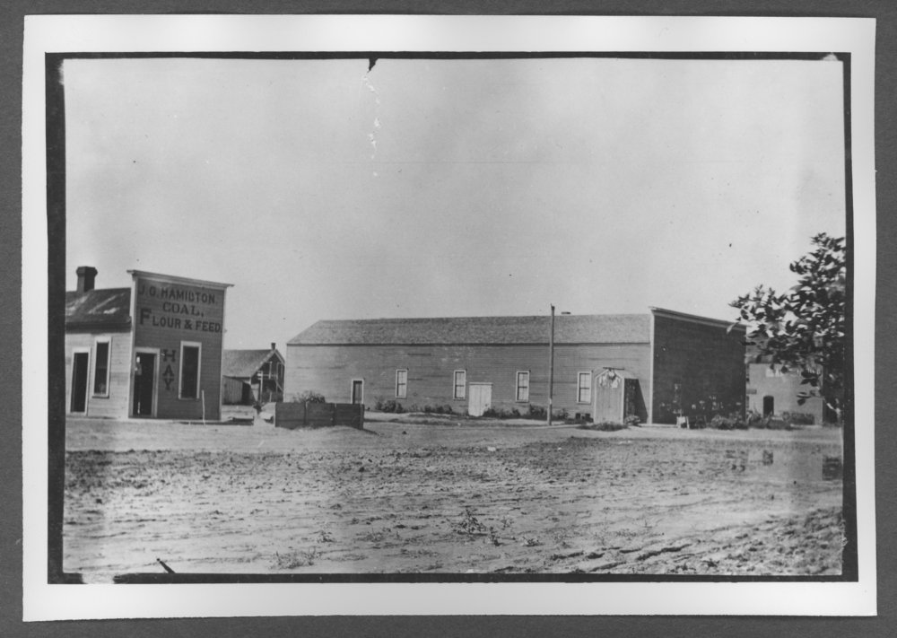 Scenes of Sherman County, Kansas - Walker Opera House at the southwest corner of 10th and Center, Goodland, Kansas.