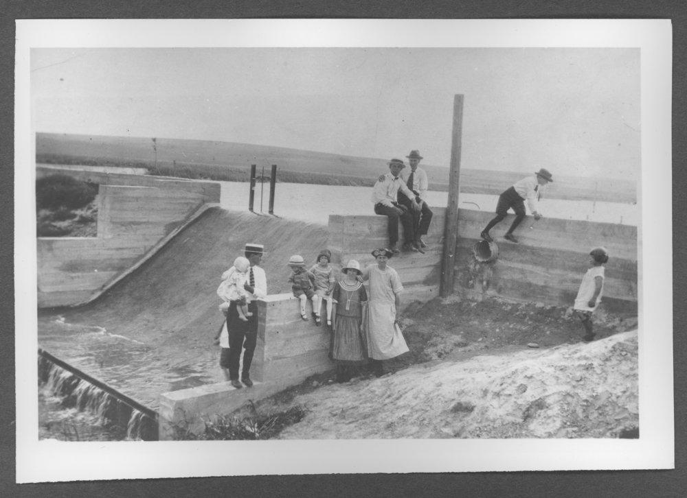Scenes of Sherman County, Kansas - Smoky Gardens first dam.