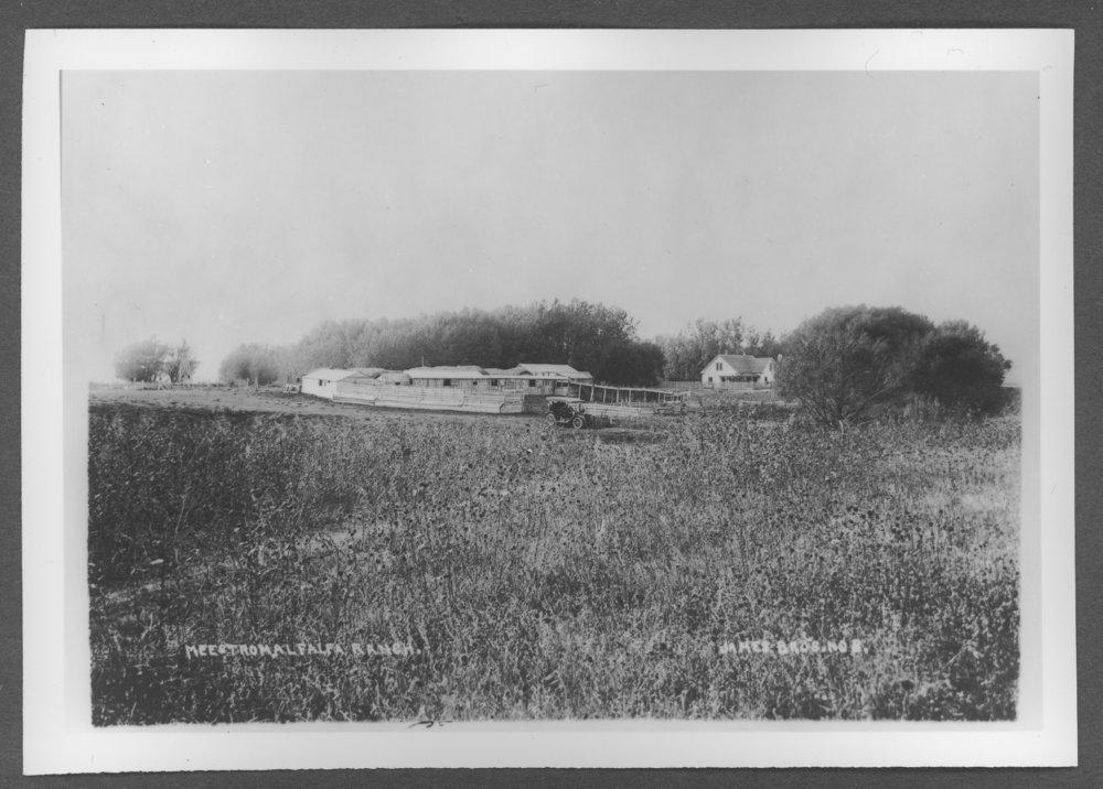 Scenes of Sherman County, Kansas - Melstrom Ranch.
