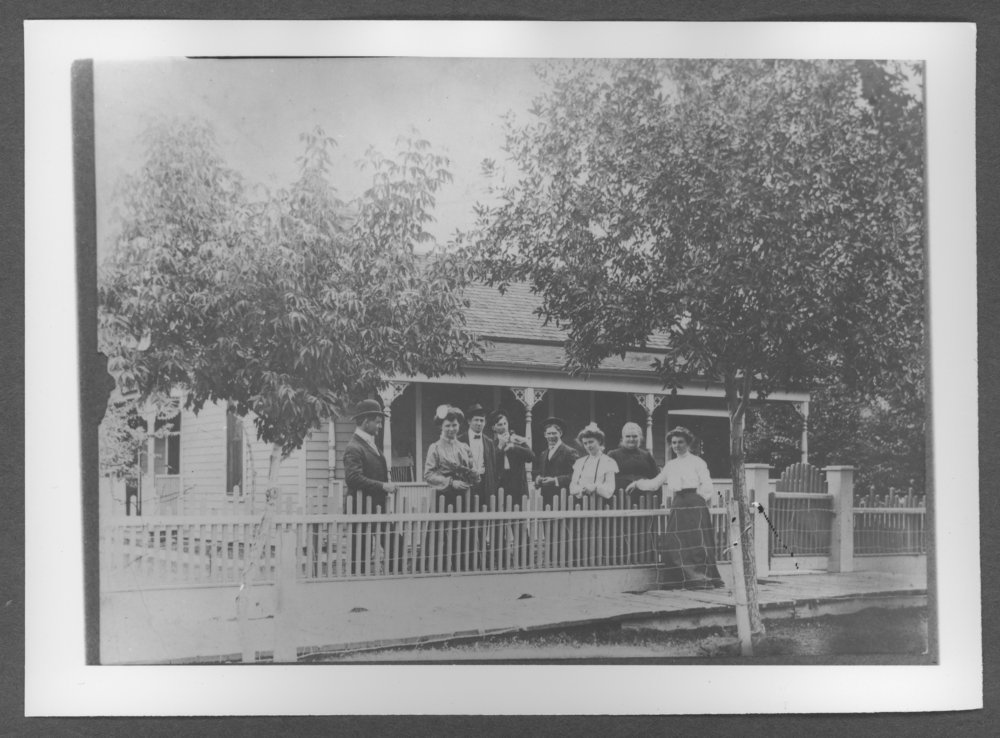 Scenes of Sherman County, Kansas - Home of Etta Sapp in Goodland, Kansas.