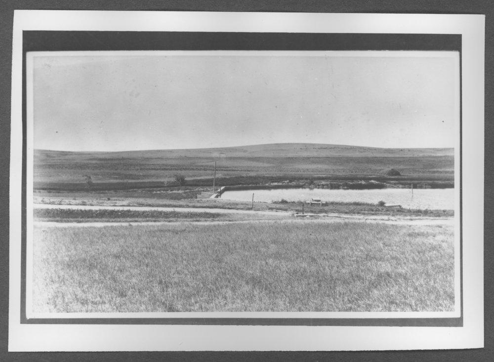 Scenes of Sherman County, Kansas - Smokey Garden's first dam.
