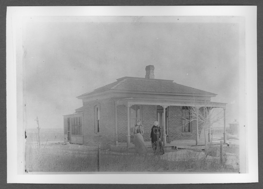 Scenes of Sherman County, Kansas - William Hargraves home at northeast corner of 7th and Cherry.