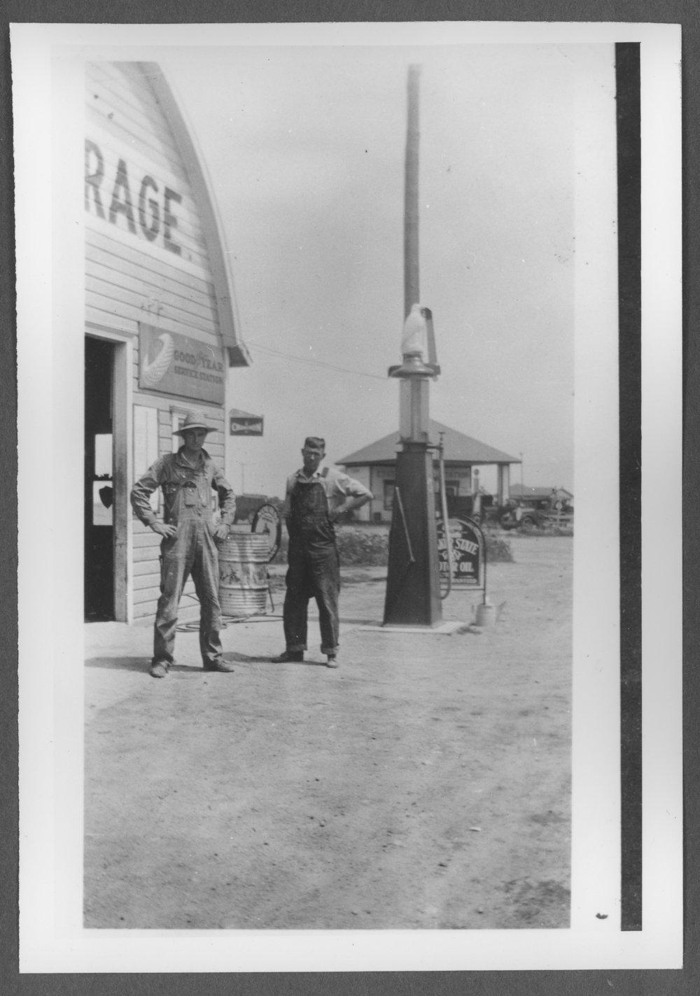 Scenes of Sherman County, Kansas - Edson's Garage