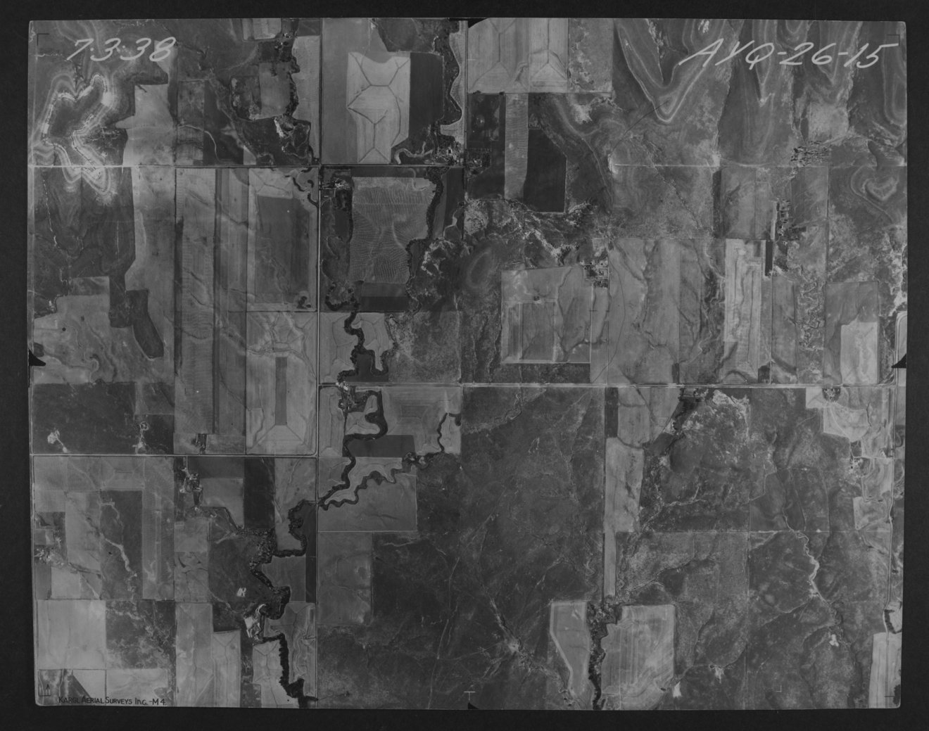 Aerial photograph of Lincoln County, Kansas - 1