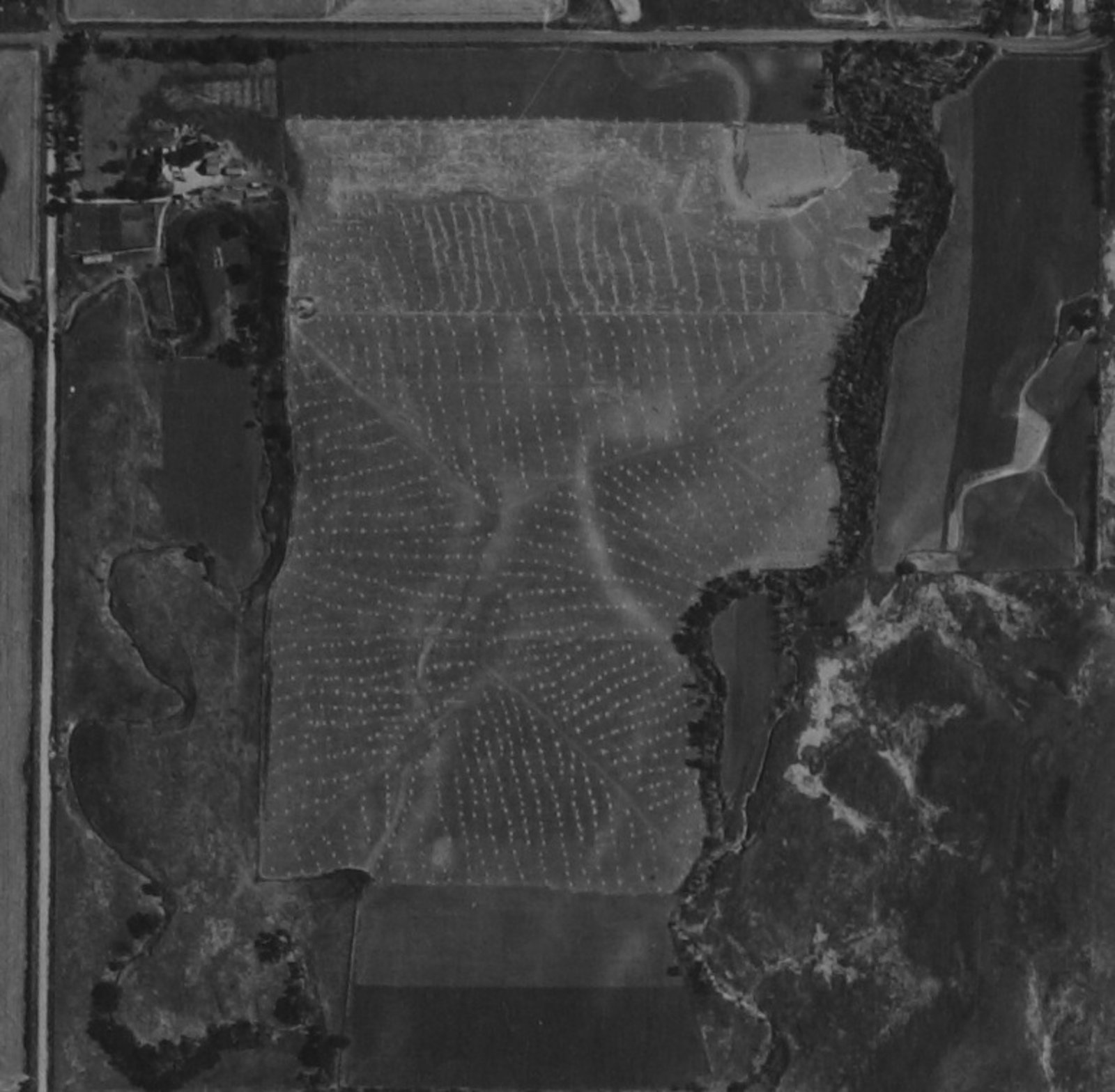 Aerial photograph of Lincoln County, Kansas - 2