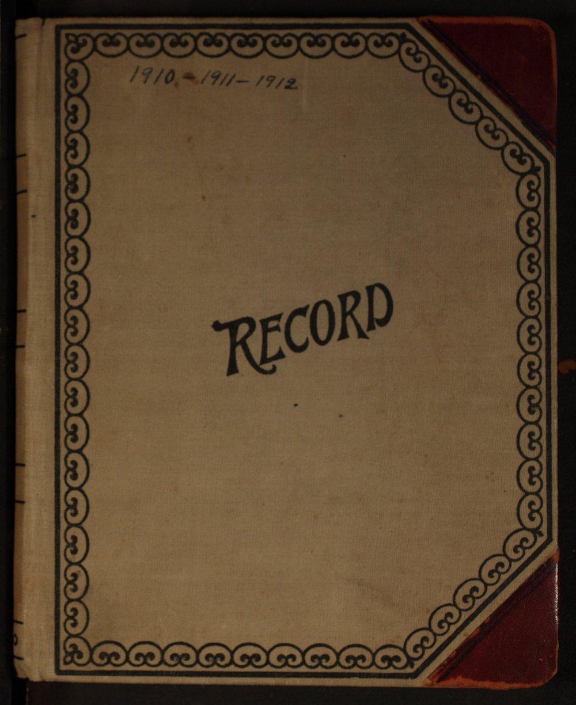Martha Farnsworth diary - Cover