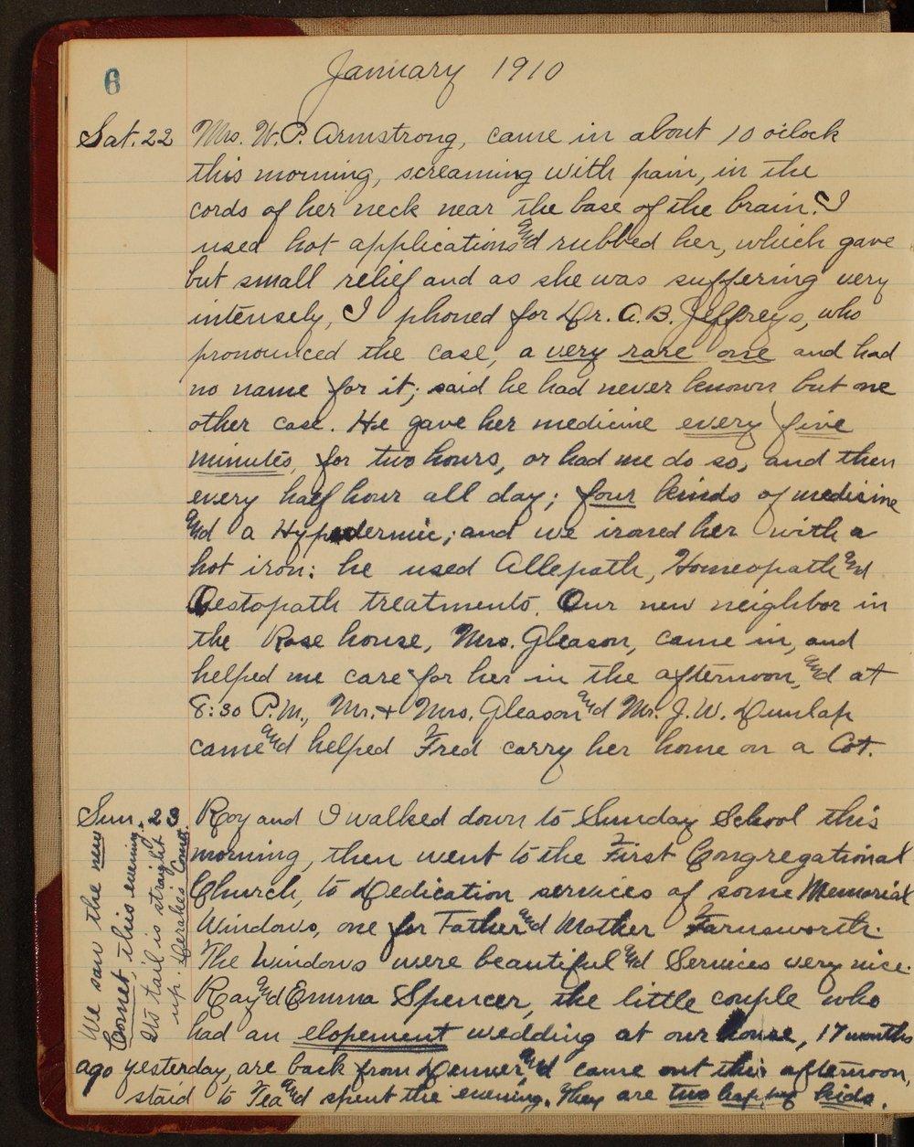 Martha Farnsworth diary - 6