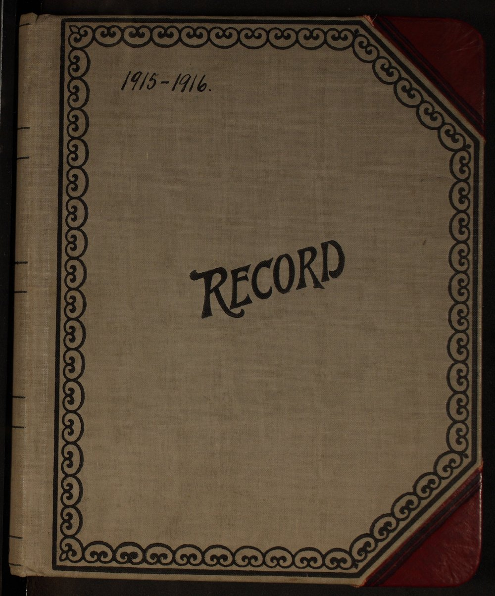 Martha Farnsworth diary - [Cover]