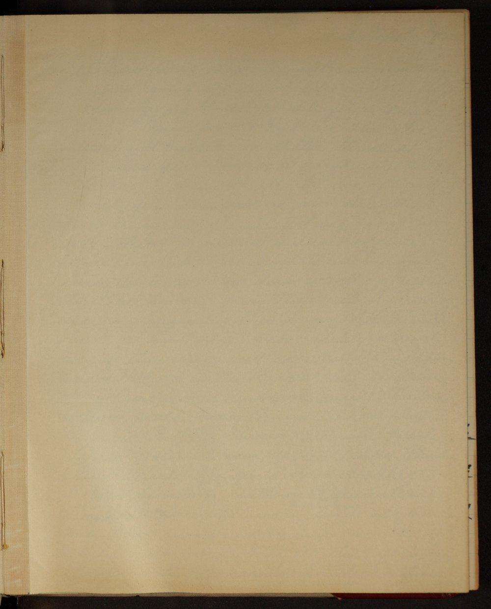 Martha Farnsworth diary - [Blank page]