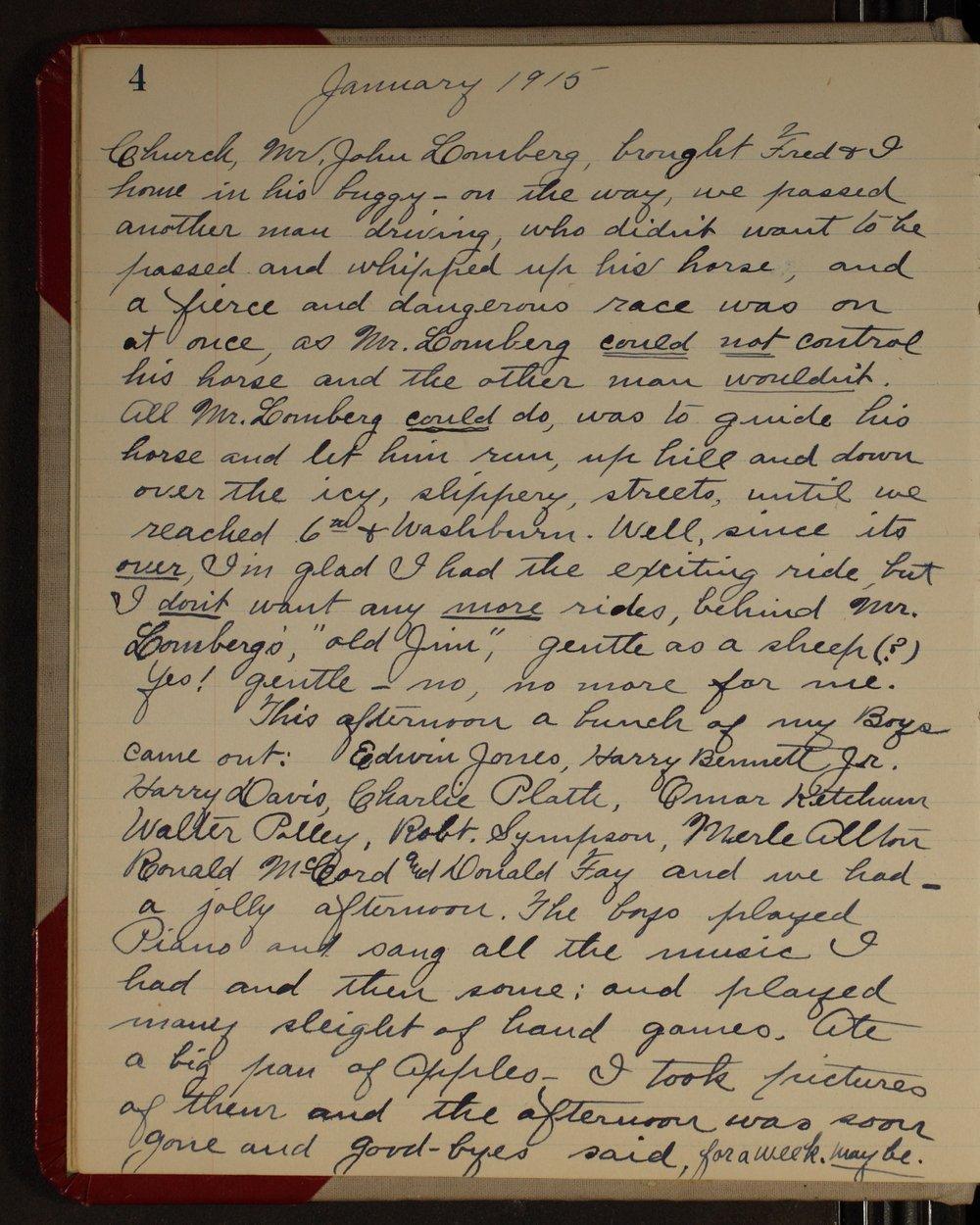 Martha Farnsworth diary - [page 4]