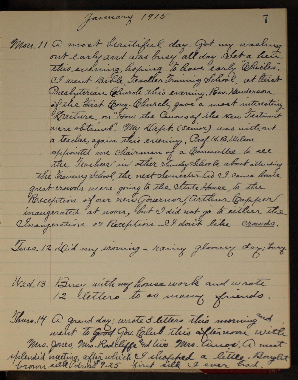 Martha Farnsworth diary - [page 7]