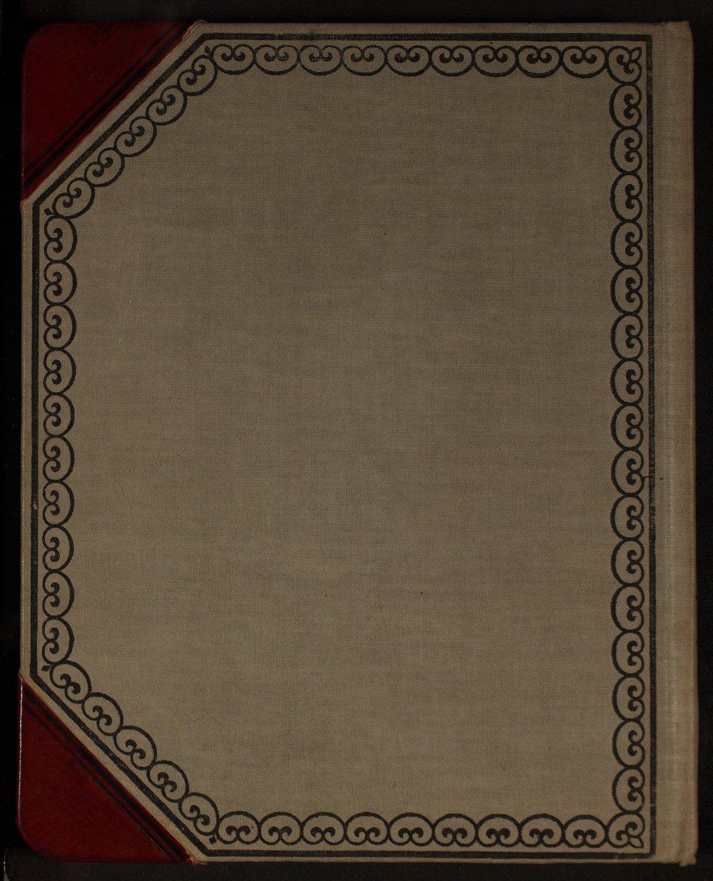 Martha Farnsworth diary - [Back cover]