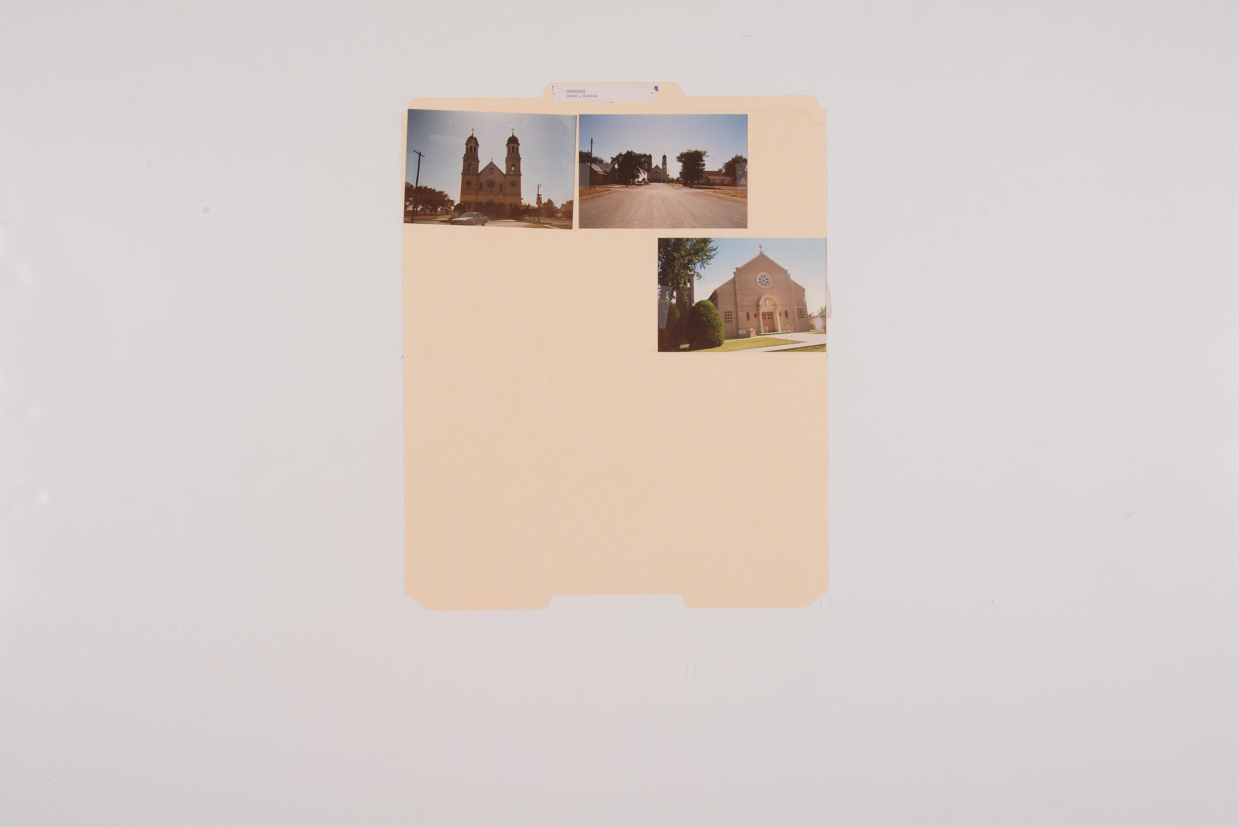 Kansas Film Commission site photographs, subject churches - 10
