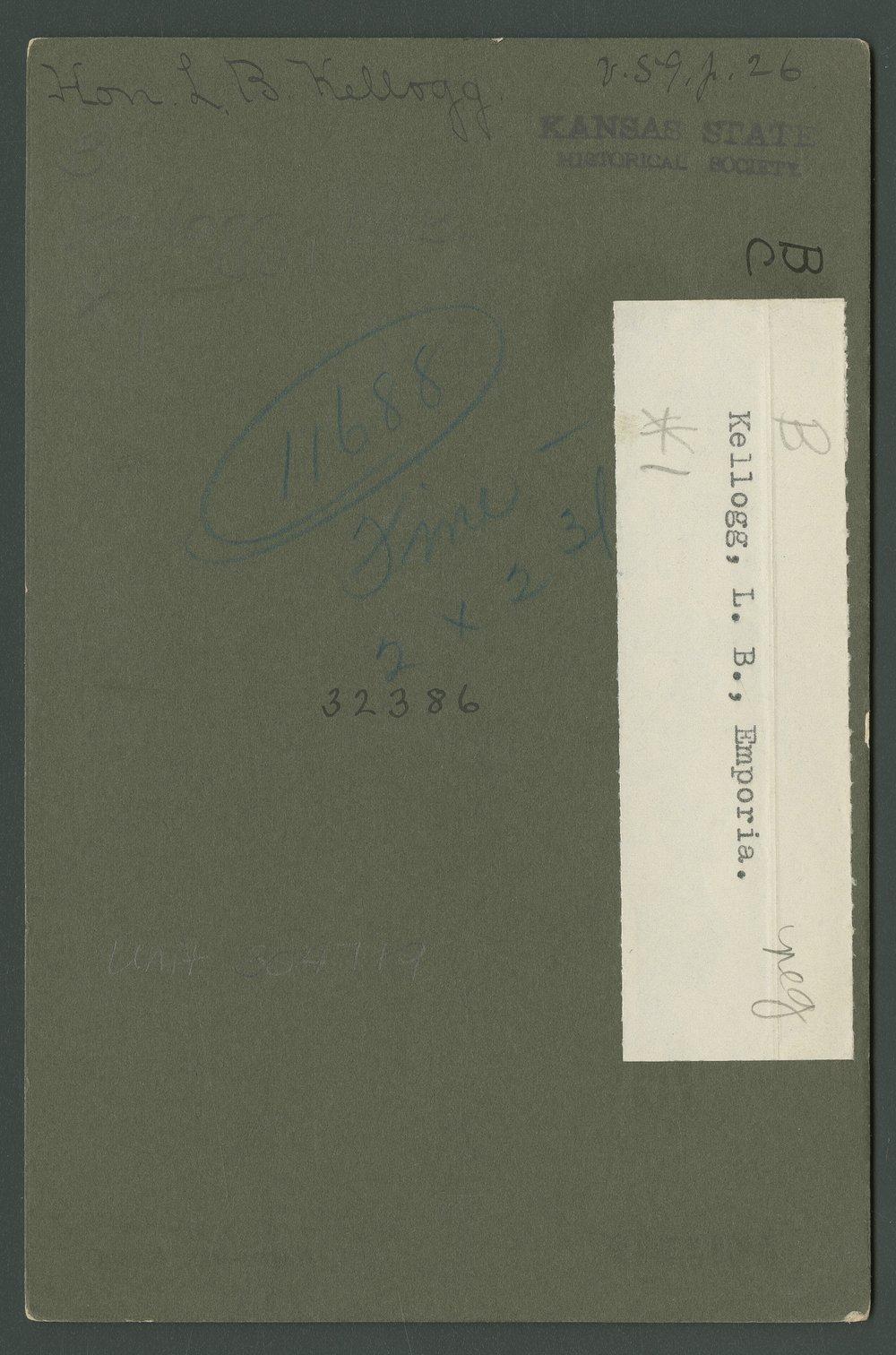 Lyman Beecher Kellogg - 2