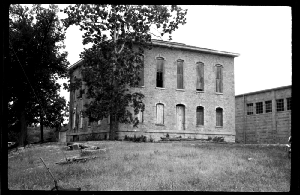 Several views of Lane University in Lecompton, Kansas - *33