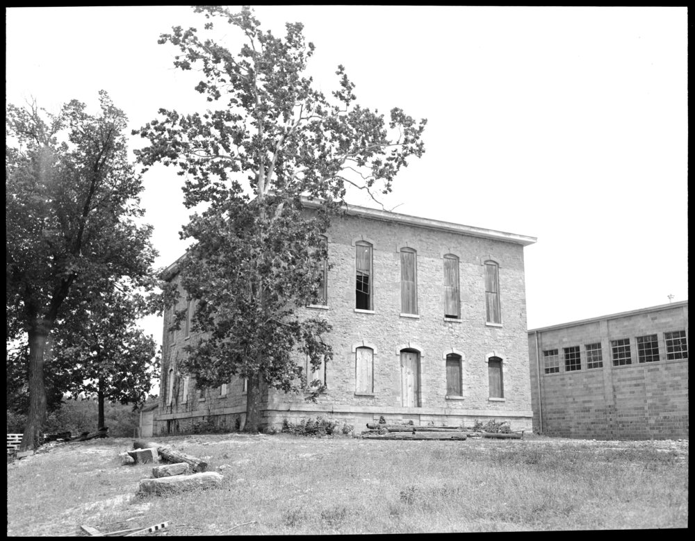 Several views of Lane University in Lecompton, Kansas - *36