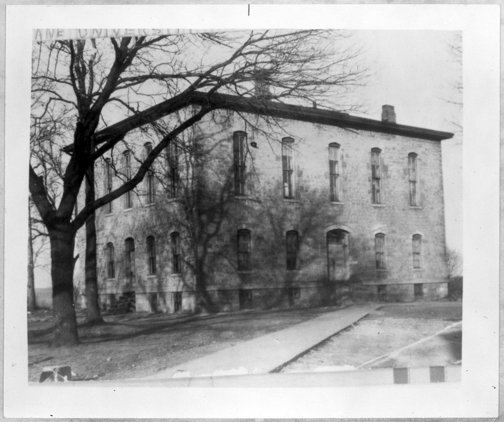 Several views of Lane University in Lecompton, Kansas - *37