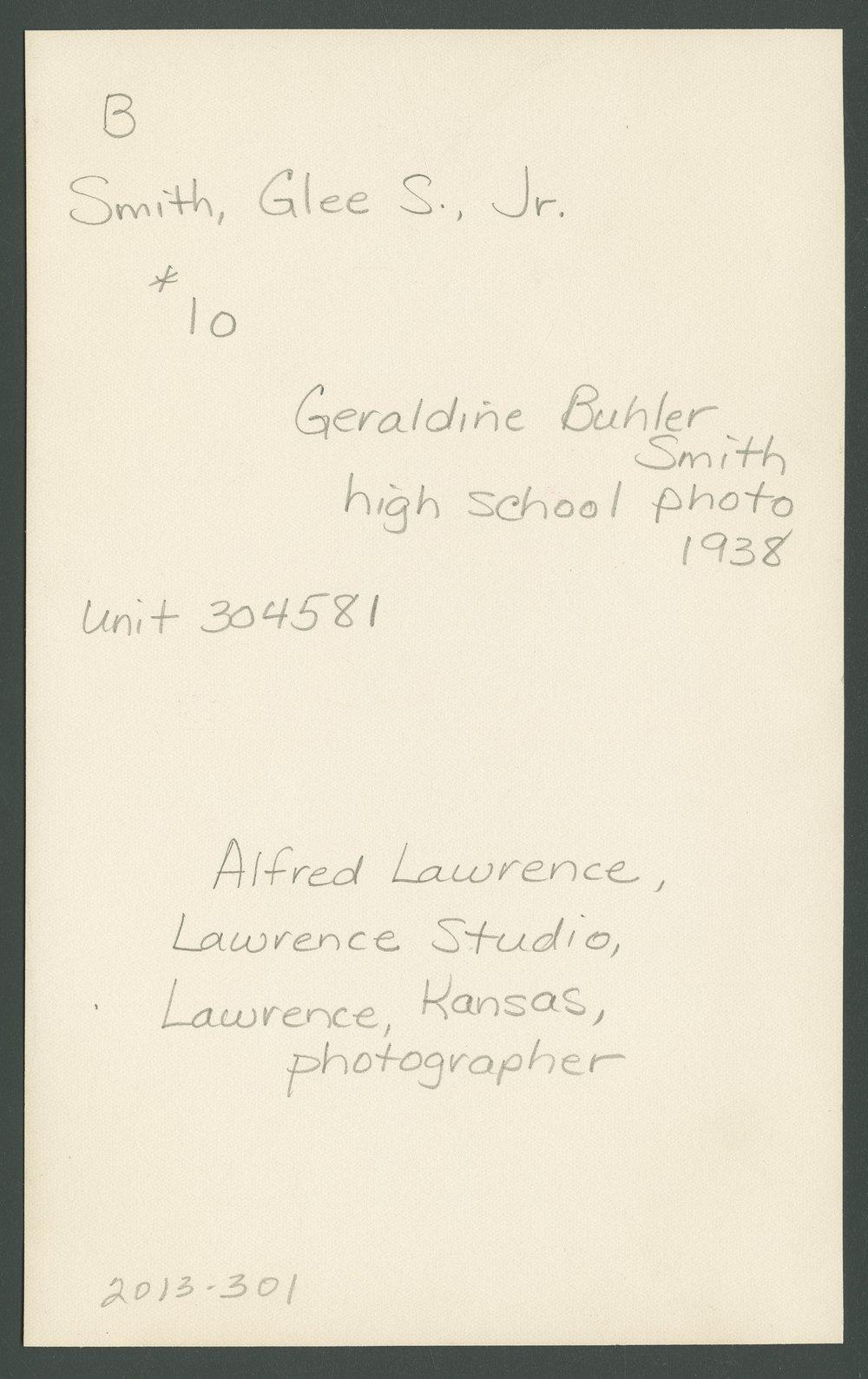 Geraldine Buhler Smith - 2