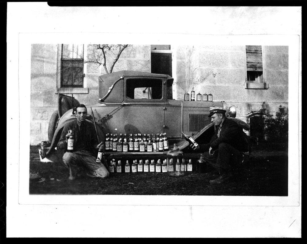 Confiscated liquor, Cottonwood Falls, Kansas - 4
