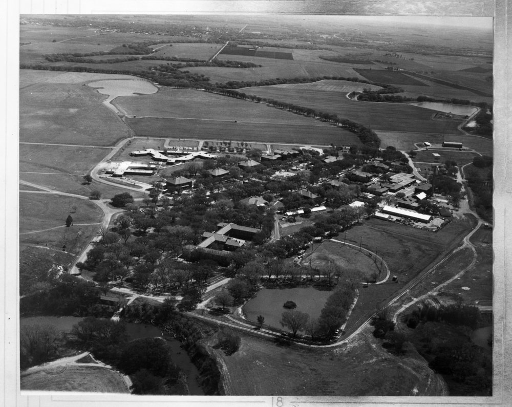 Aerial views of the Larned State Hospital, Larned, Kansas - *4