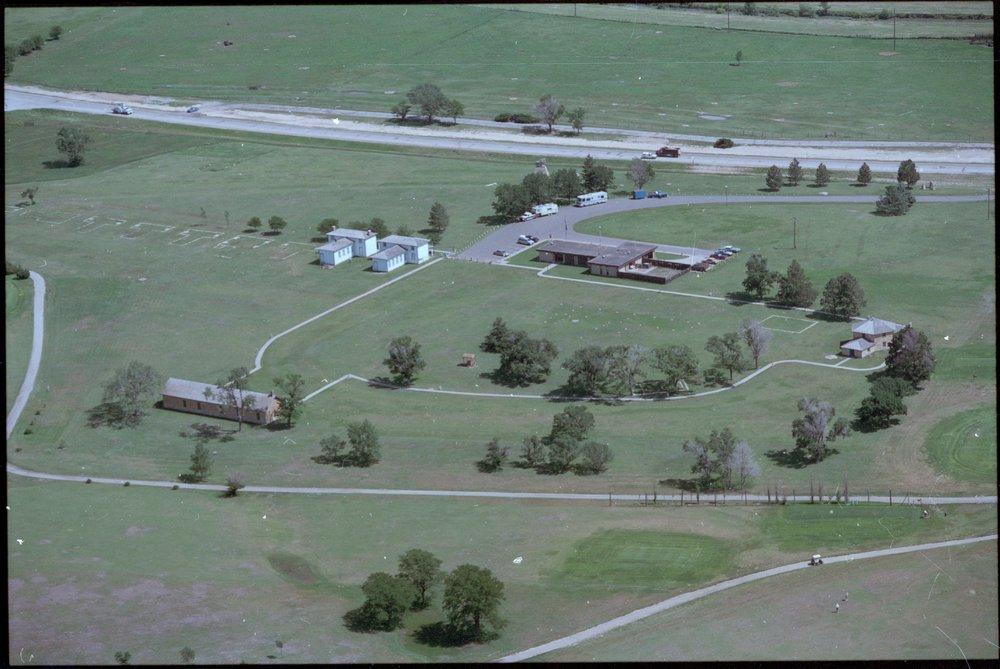 Aerial views of Fort Hays, Kansas - 1