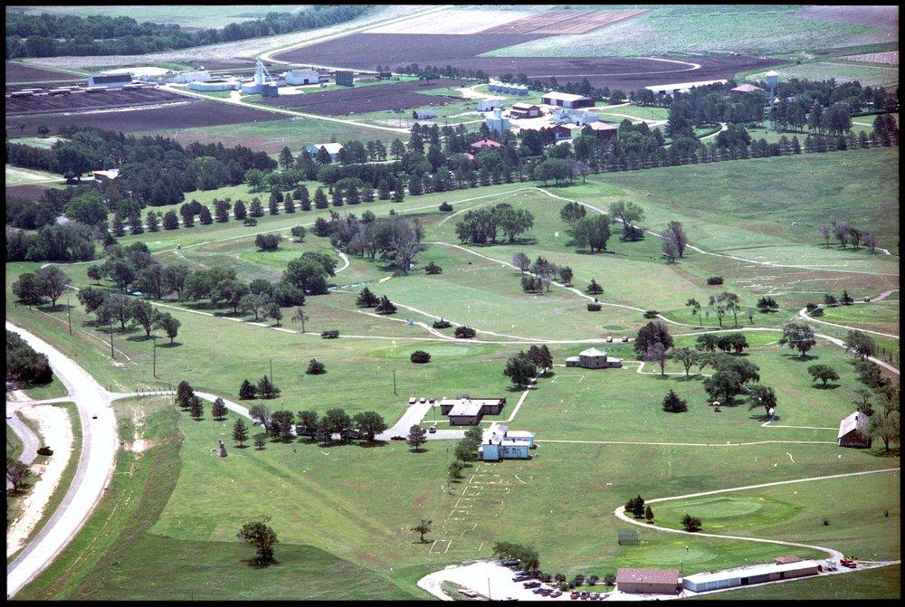 Aerial views of Fort Hays, Kansas - 6
