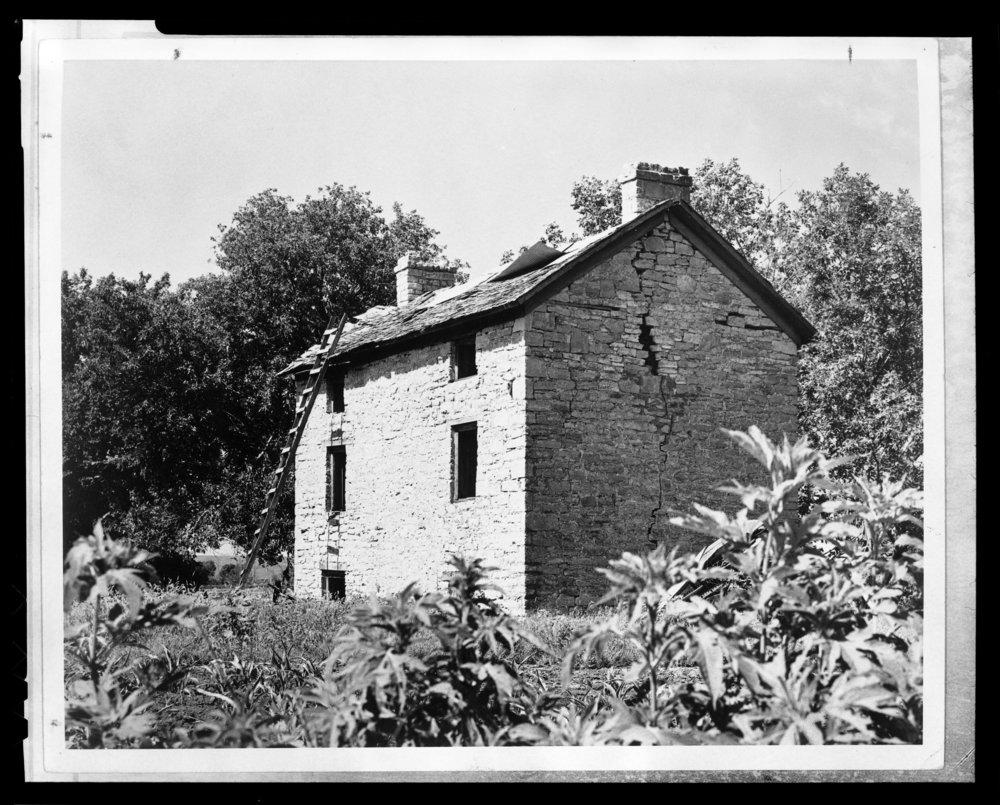 Indian agent building, Council Grove, Kansas - 3