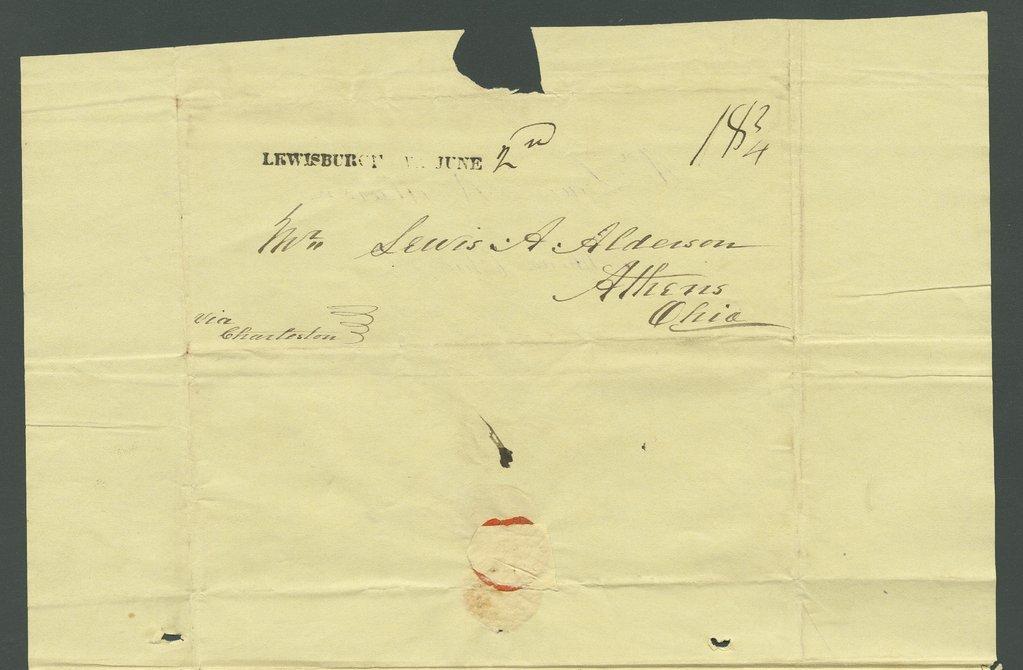 John M. Alderson to Lewis Allen Alderson - 8