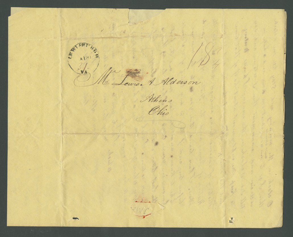John M. Alderson to Lewis Allen Alderson - 16