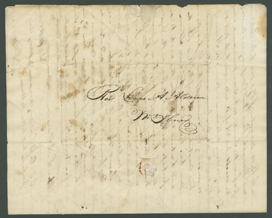 L. W. Allen to Lewis Allen Alderson - 8