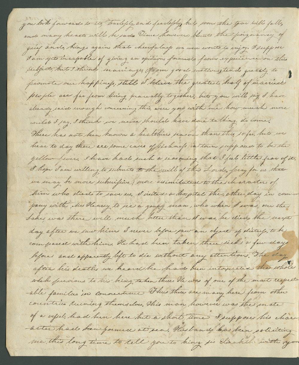 Catherine B. Dart to Lewis Allen Alderson - 2