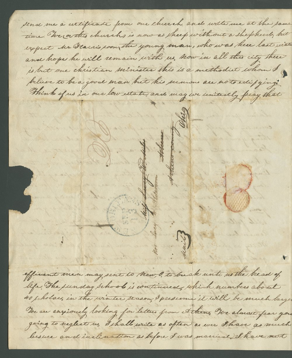 Catherine B. Dart to Lewis Allen Alderson - 4