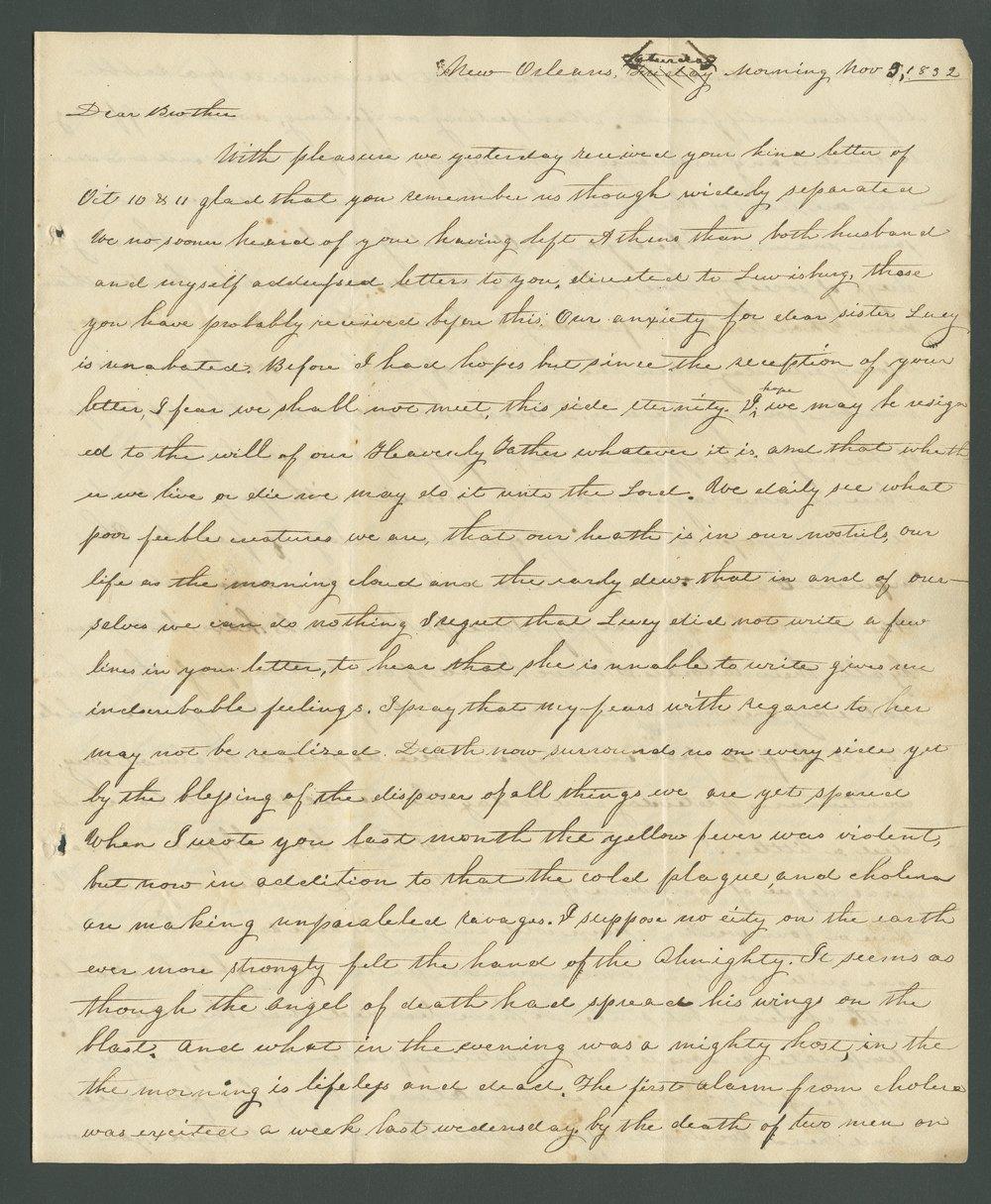 Catherine B. Dart to Lewis Allen Alderson - 7