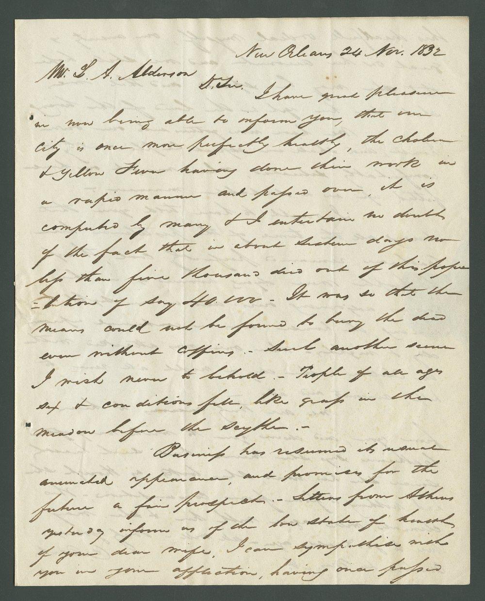 Catherine B. Dart to Lewis Allen Alderson - 11