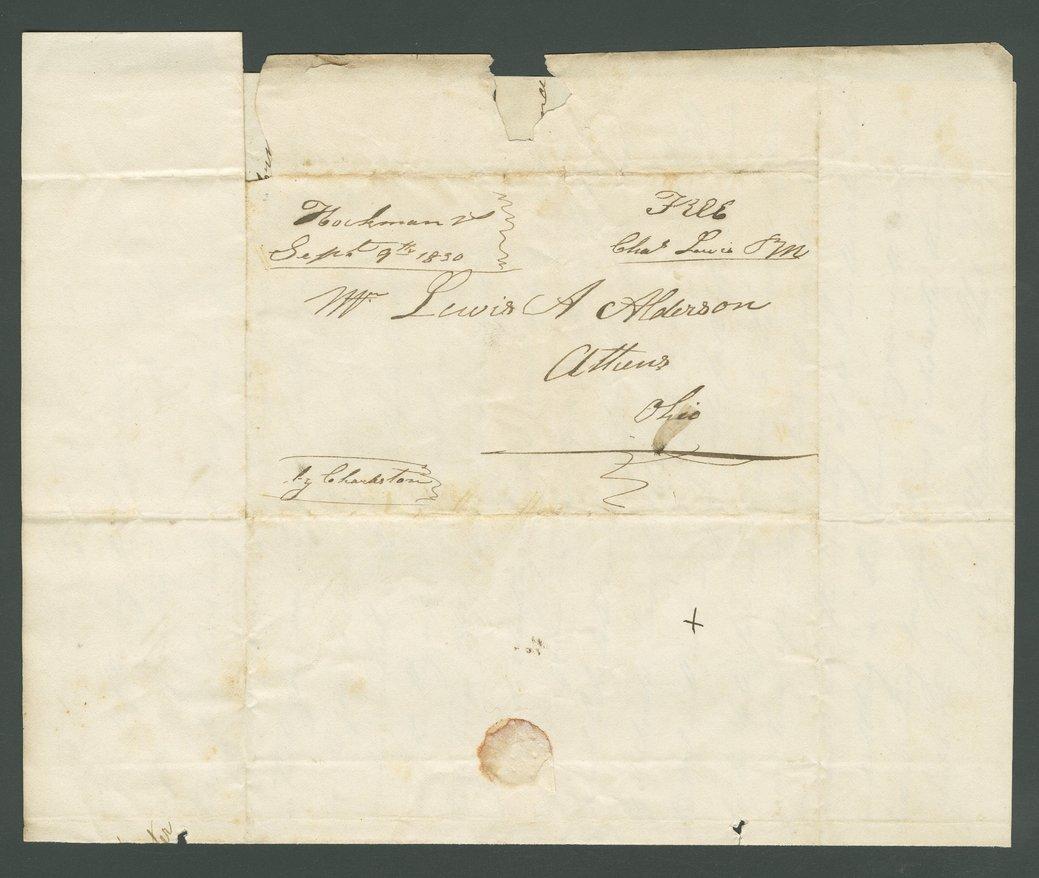 Charles Lewis to Lewis Allen Alderson - 5
