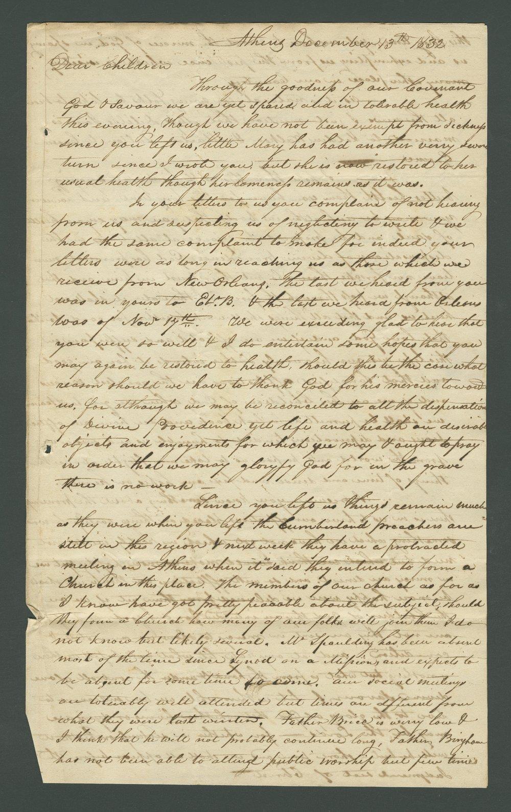 Joseph B. Miles to Lewis Allen Alderson - 4
