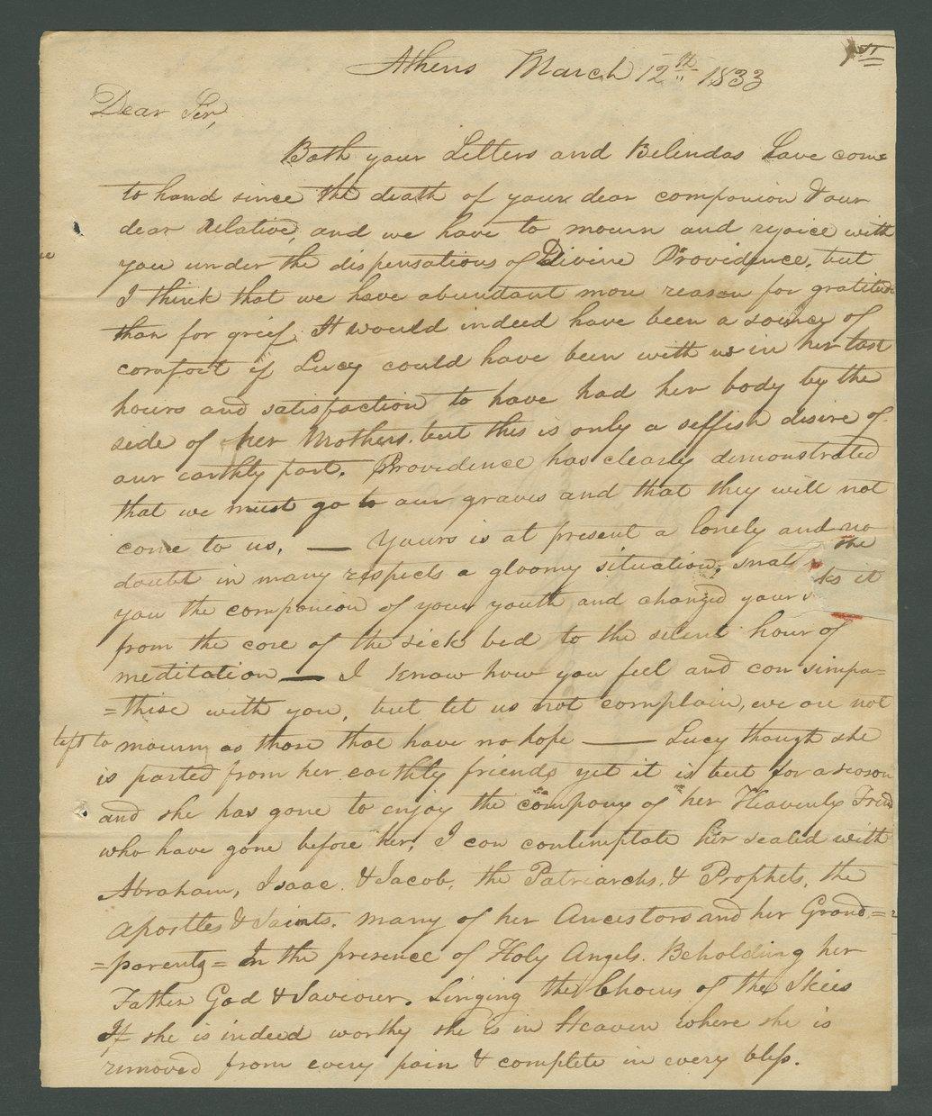 Joseph B. Miles to Lewis Allen Alderson - 11